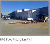 RFG Food Production Plant at practical completion